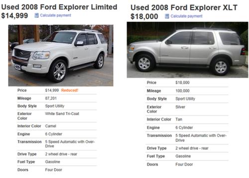 Explorer Compare