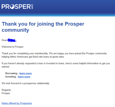 Prosper Step 7
